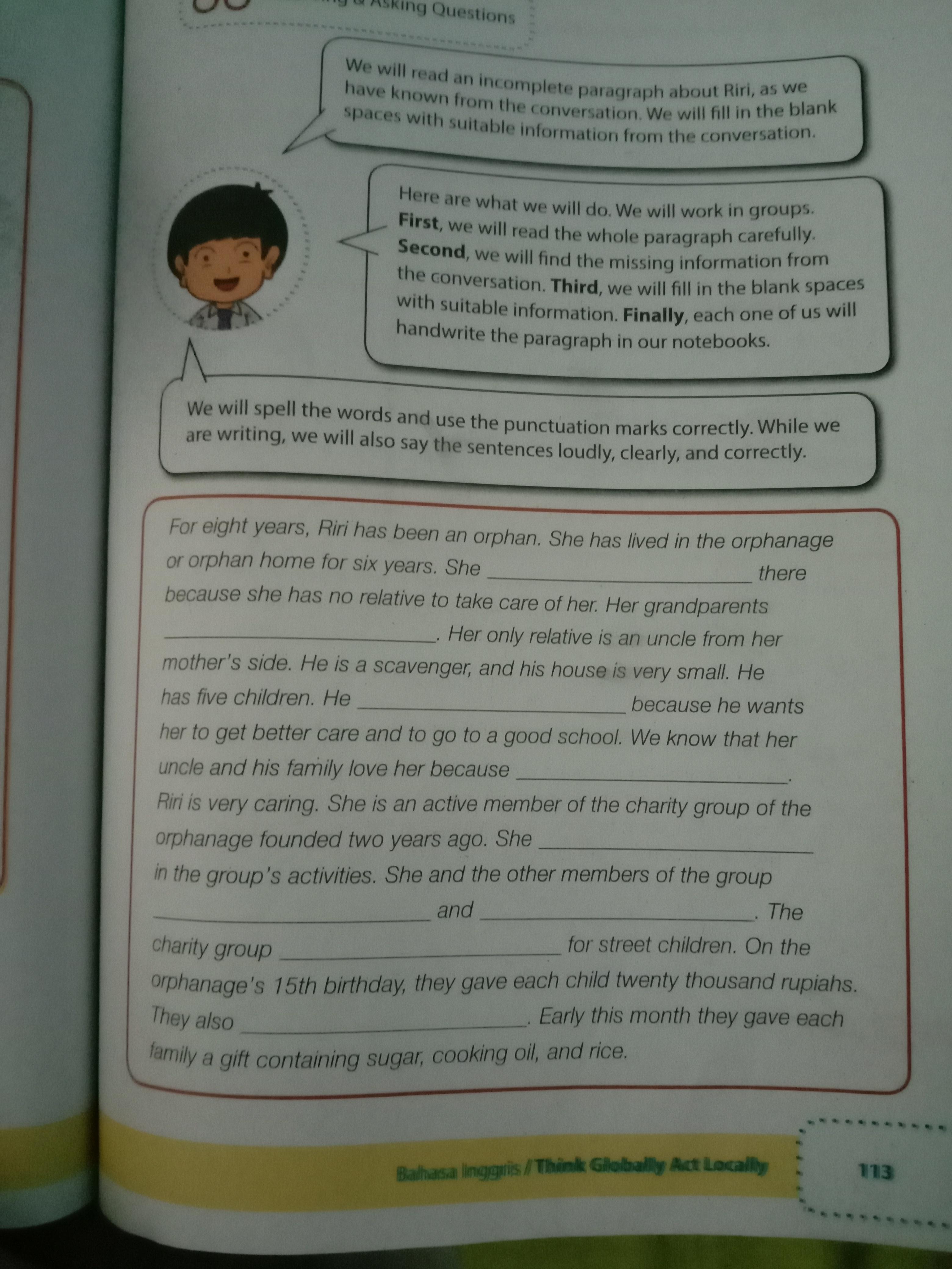 Jawaban Tugas 2 Halaman 195 Bahasa Indonesia Kelas 10 Tahun Ajar