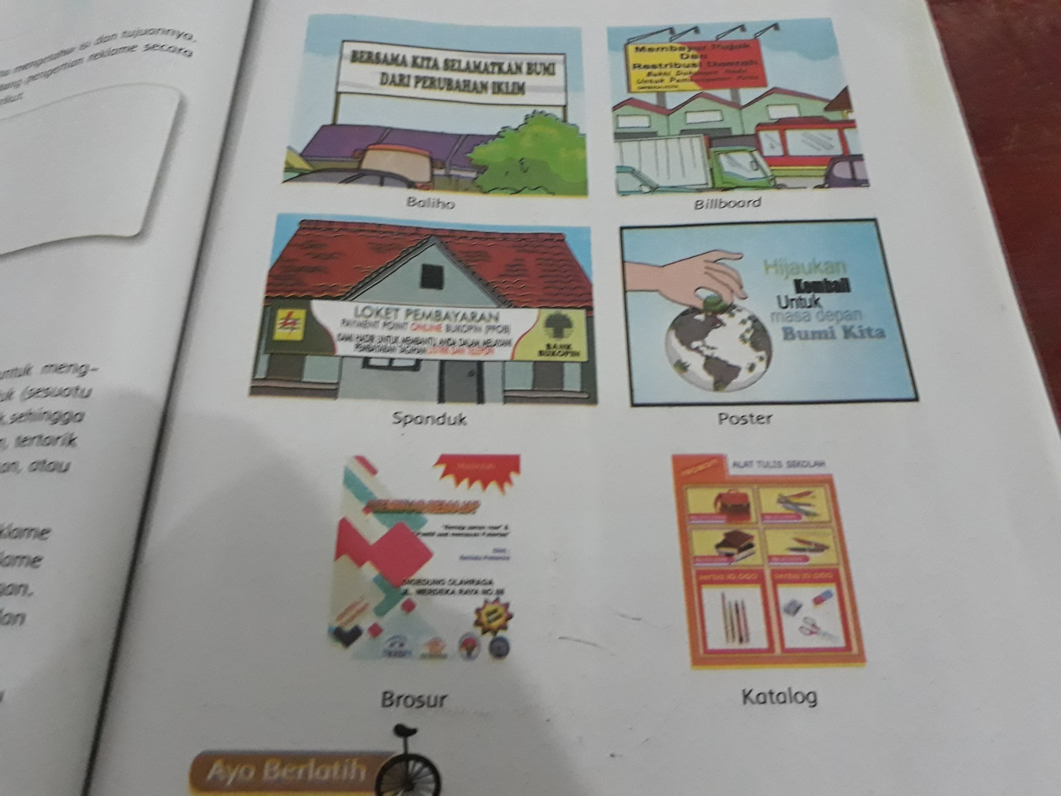 Reklame Papan Nama Pamflet Dan Led Merupakan Contoh ...