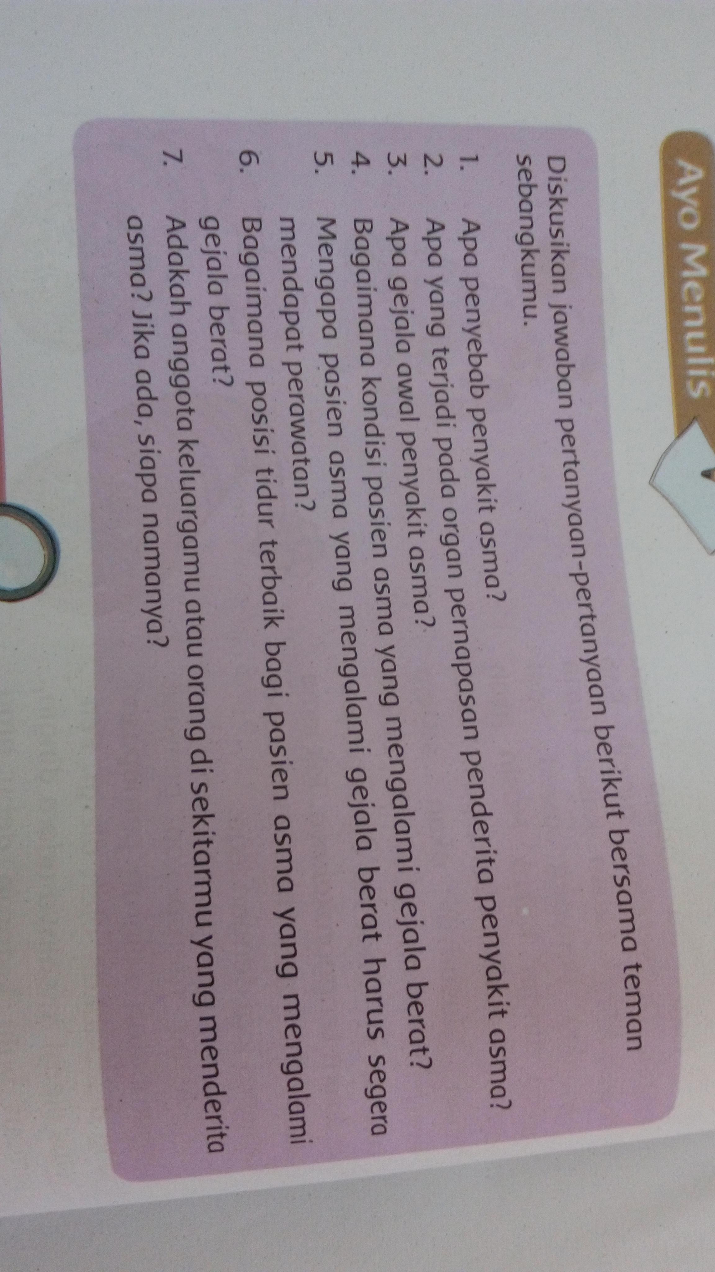 Kunci Jawaban Tema 2 Kelas 5 Halaman 58 Please Tolong Di Jawab Y Brainly Co Id