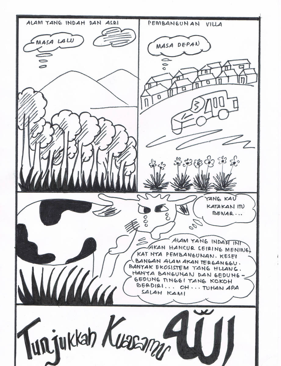 Gambar Poster Ajakan Pelestarian Flora Dan Fauna Brainly Co Id