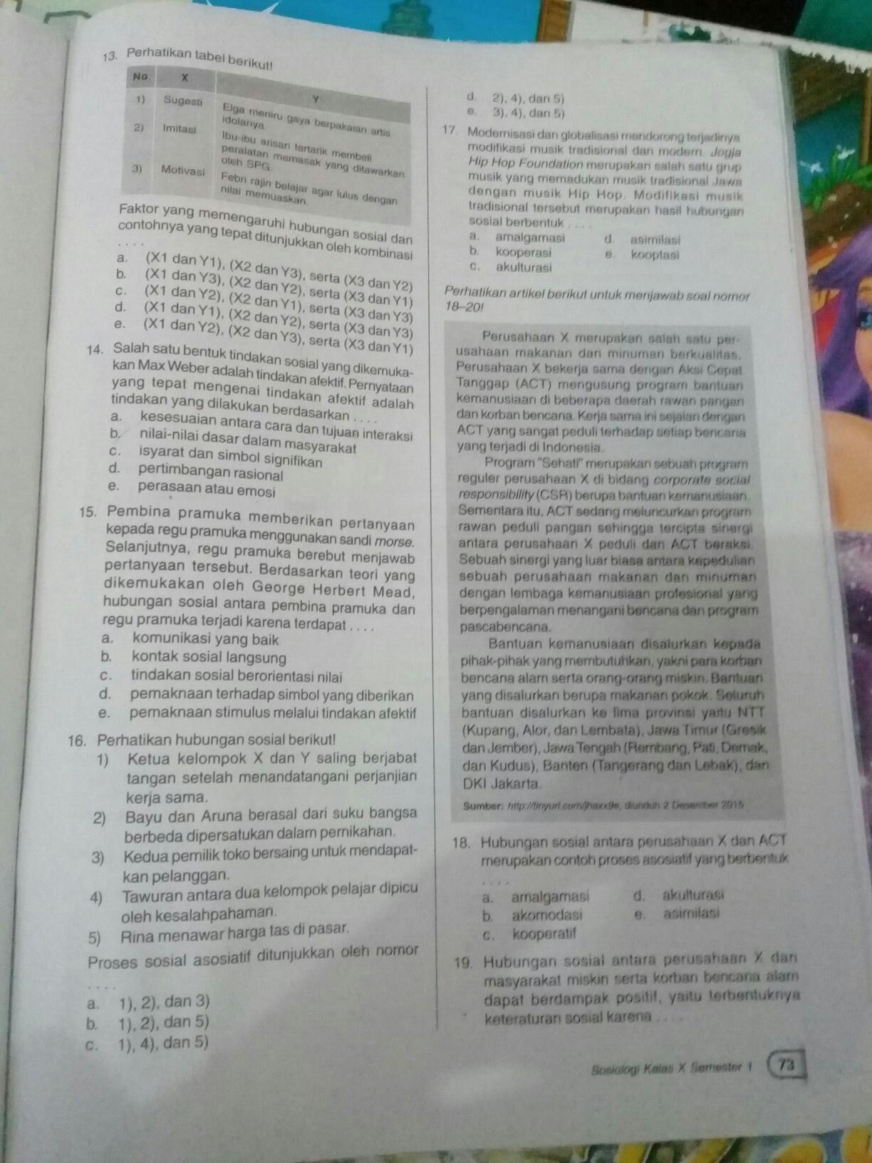 Tolong In No 13 18 Bsk Di Kumpullllll Brainly Co Id