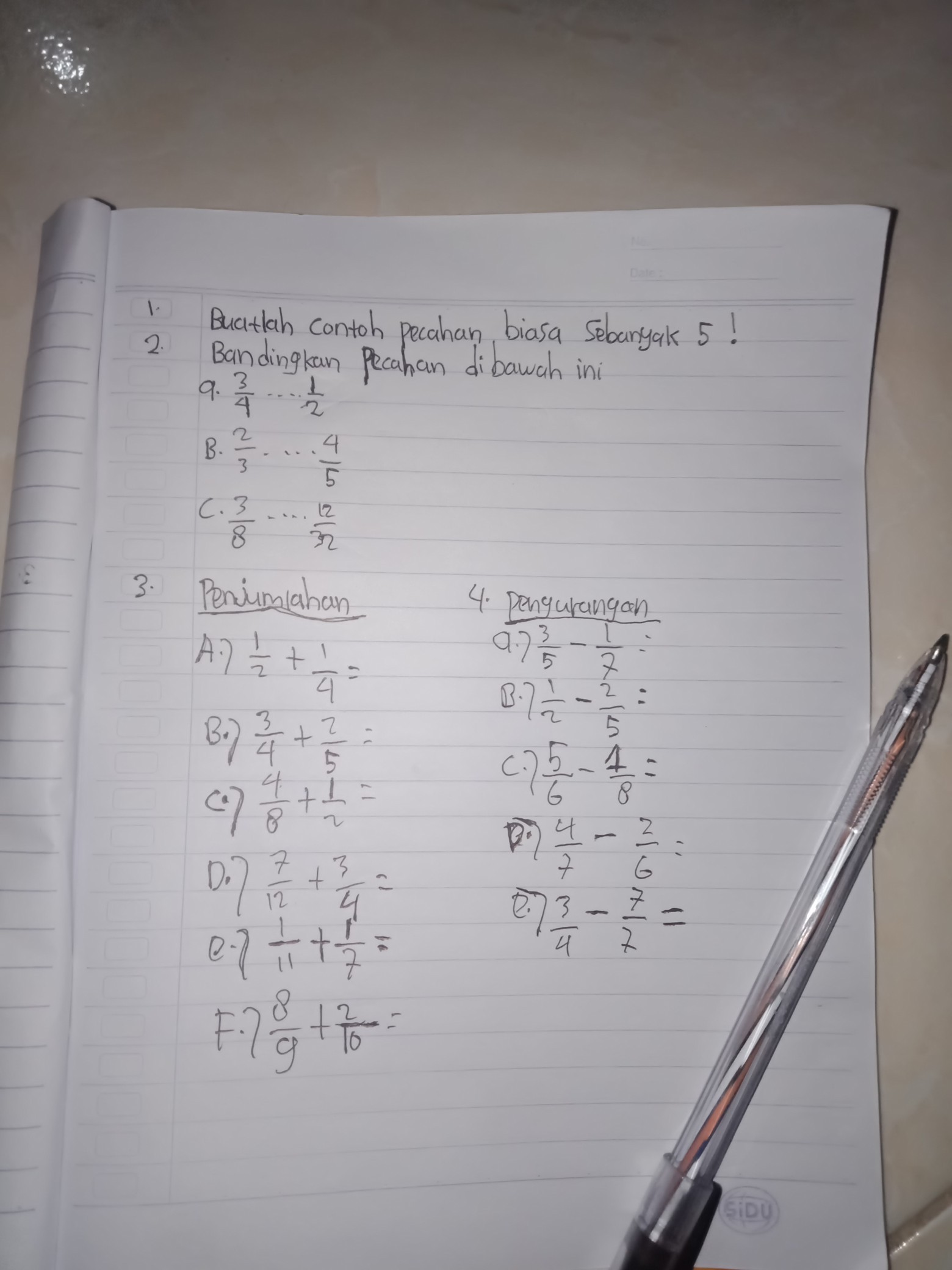 Tolong Foto Cara Dan Jawabanya Soal Matematika Brainly Co Id