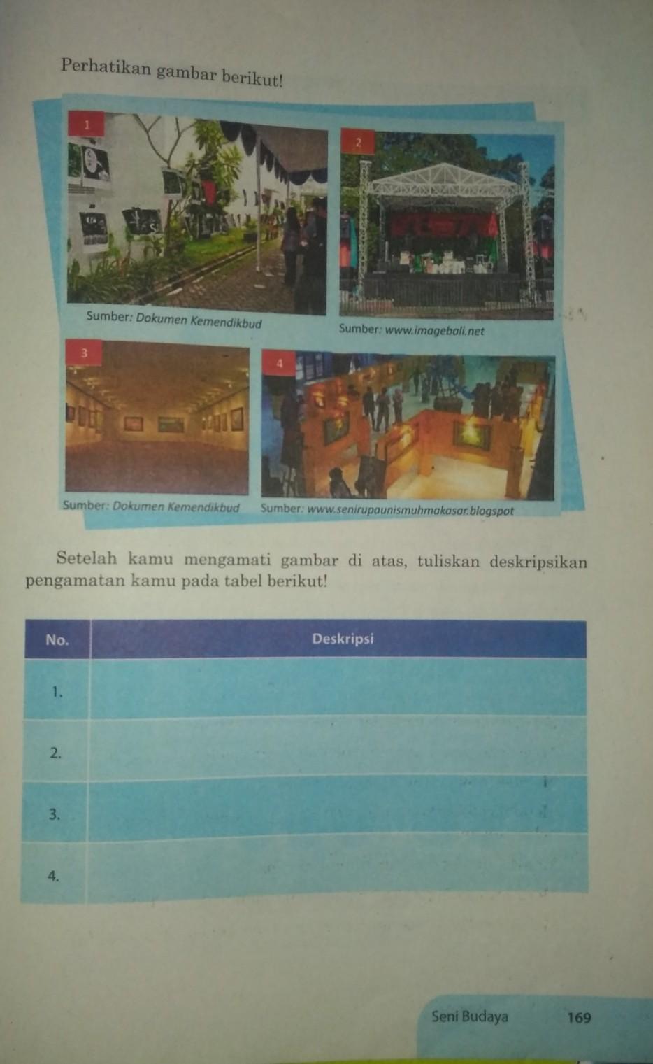 Seni Budaya Kelas 9 Halaman 169 Brainly Co Id