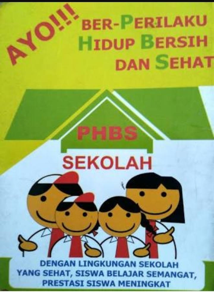 Poster Lingkungan Sekolah Sehat Nusagates