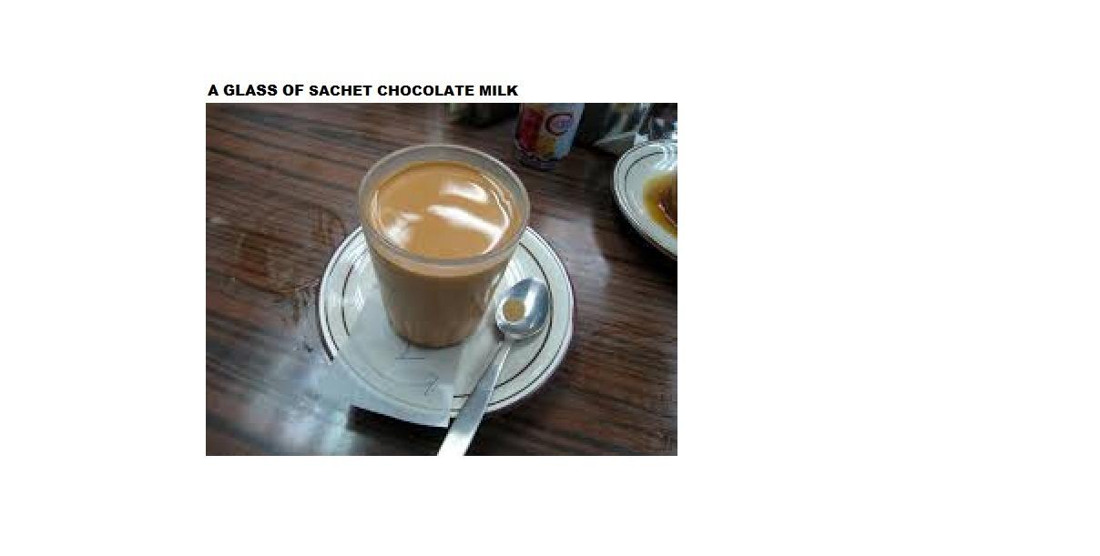 Bagaimana Cara Membuat Susu Coklat Sachet Dalam Bahasa Inggris