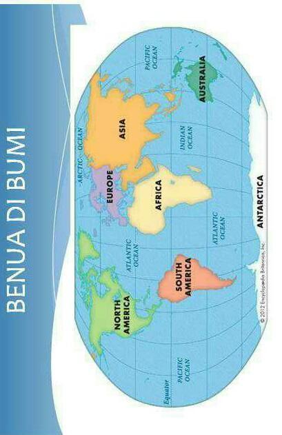 Letak astronomis dan geografis masing benua di dunia ...
