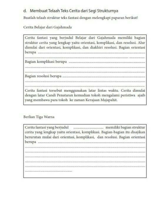 Jawaban Bahasa Indonesia Halaman 67 Kelas 7 Brainly Co Id