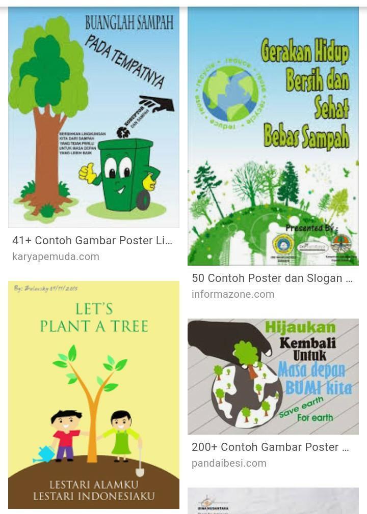 Membuat Poster Peduli Lingkungan Brainly Co Id