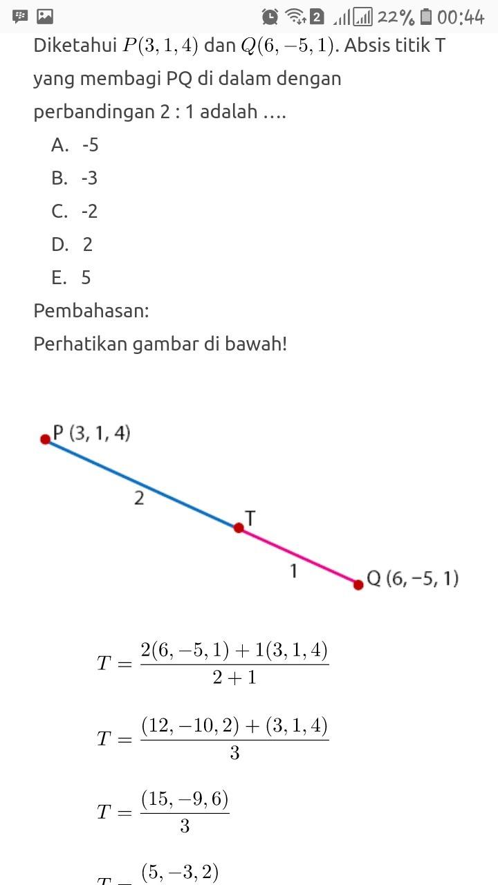 Soal Vektor Ruang 2 Dan 3 Beserta