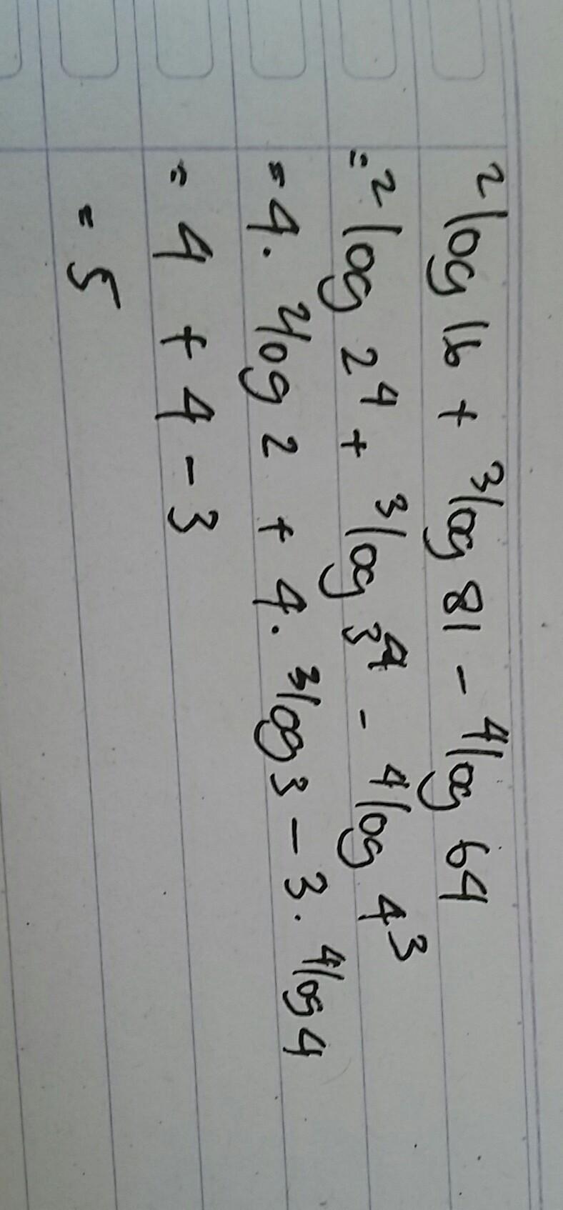 50++ Nilai dari 4 log 32 adalah ideas
