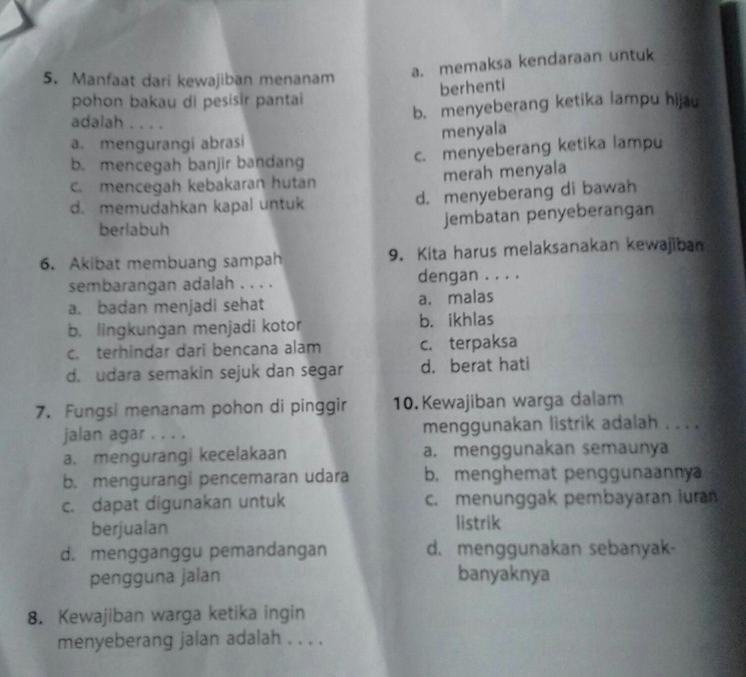 Please Tolong Jawabb Ppkn Pkn Klsvl Brainly Co Id
