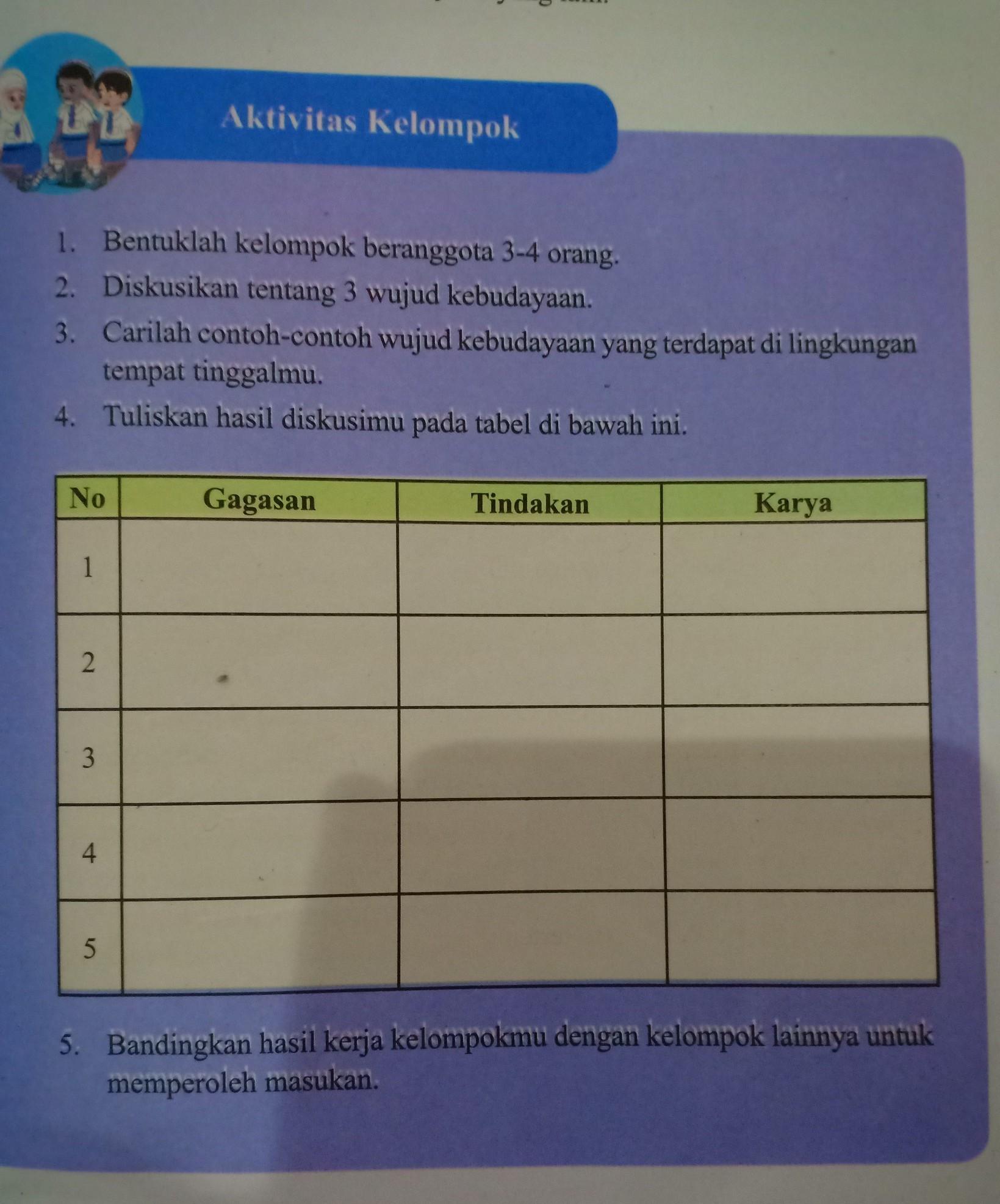 Jawaban Aktivitas Kelompok Ips Kelas 9 Halaman 48