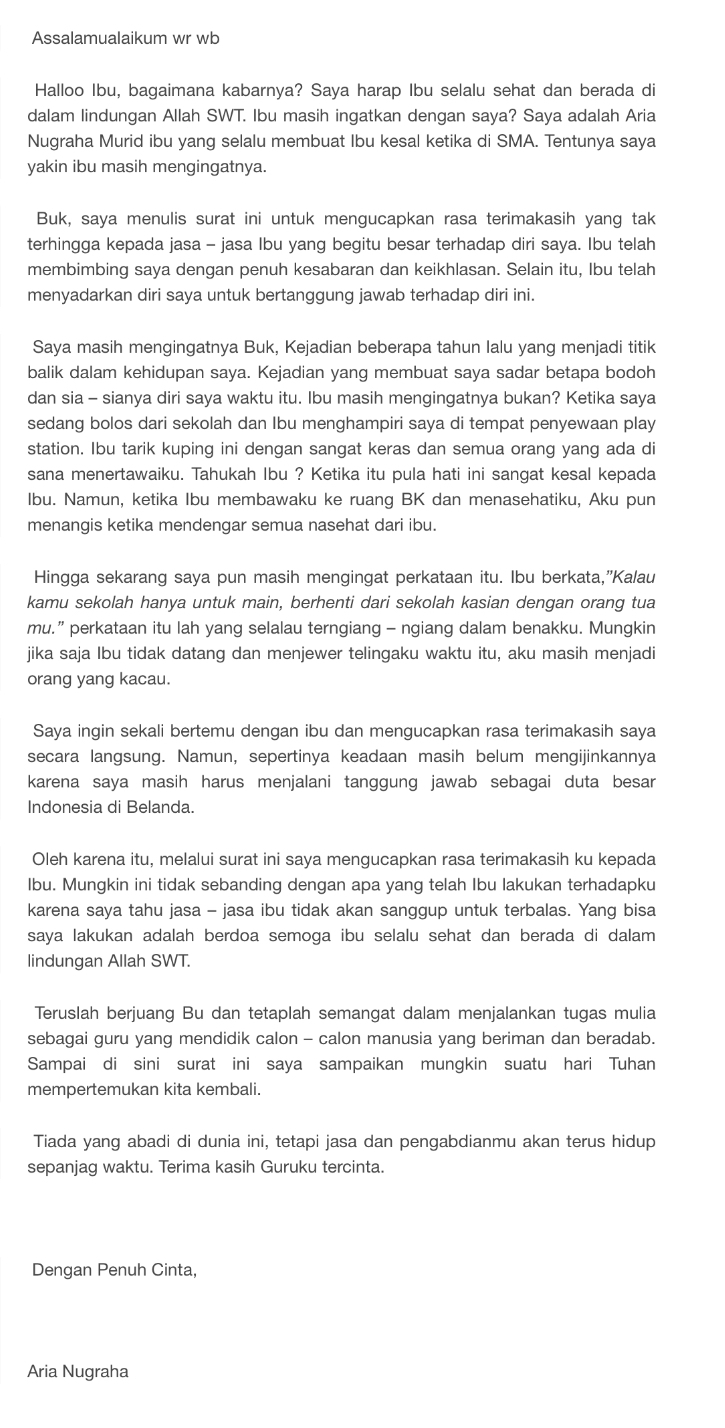 22+ Contoh surat cinta untuk ibu dalam bahasa jawa terbaru yang baik dan benar