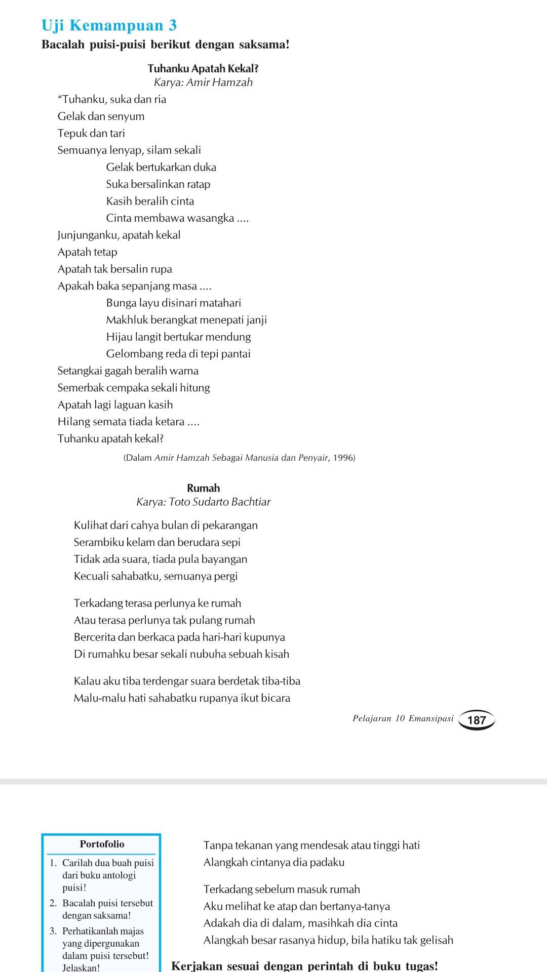 1 Bagaimana Sifat Diksi Yang Di Gunakan Dalam Puisi Di Atas2