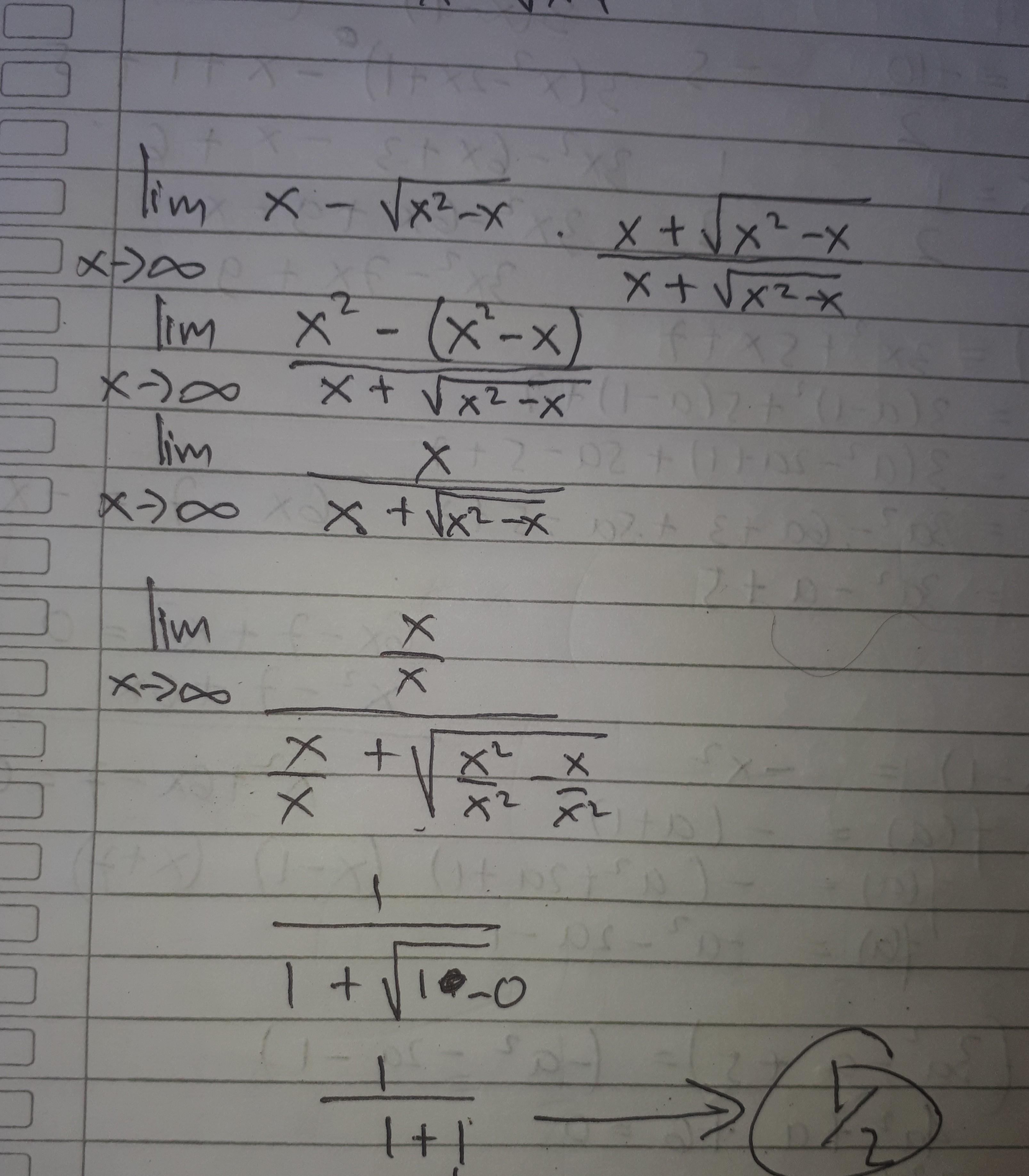 Contoh Soal Limit 0 0 Bentuk Akar
