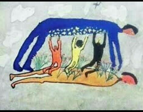 Contoh Gambar Gaya Lukisan Enumeratif Brainly Co Id