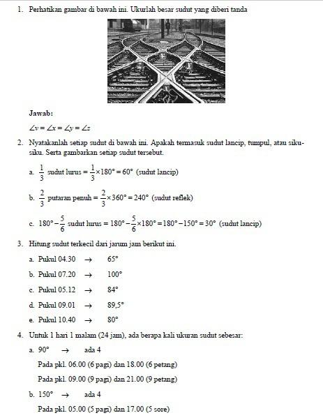 Latihan 4 1 Buku Matematika Kelas 7 Kurikulum 2013 Hal