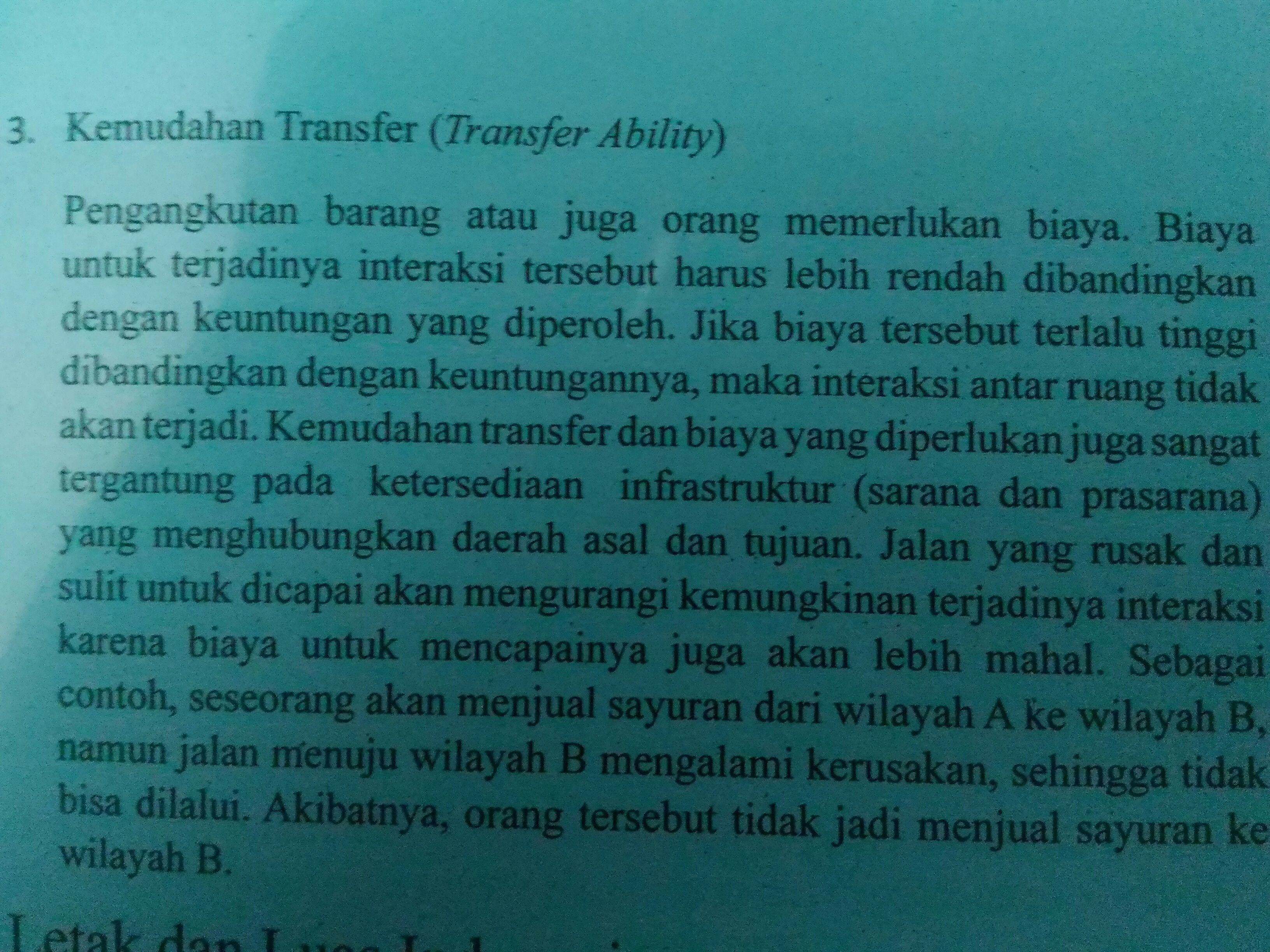 Contoh Interaksi Antar Ruang Di Indonesia Barisan Contoh
