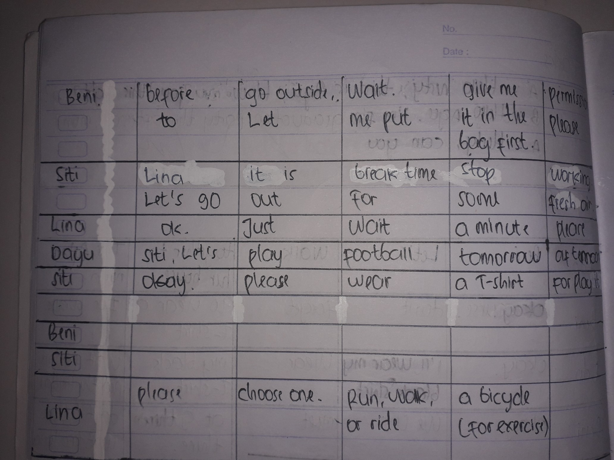 Jawaban Bahasa Inggris Kelas 8 Hal 55 Guru Galeri