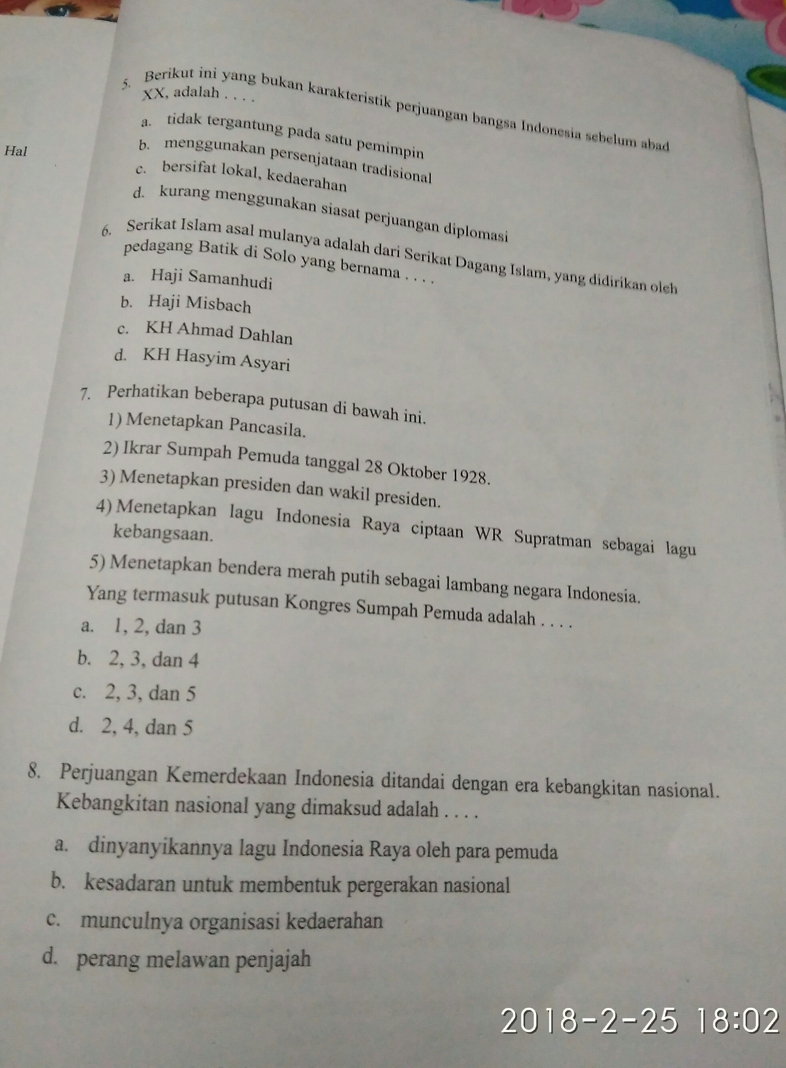 Jawaban Aktivitas Kelompok Ips Kelas 9 Halaman 63