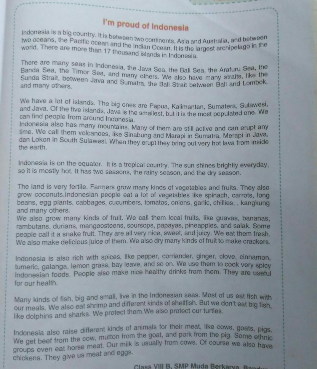Terjemahan Arti Dari Buku Paket Bahasa Inggris Halaman 173 Kelas 7 Brainly Co Id