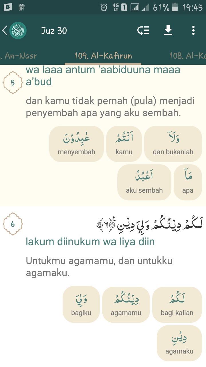 Surat Al Kafirun Ayat 6 Menjelaskan Tentang - Gbodhi