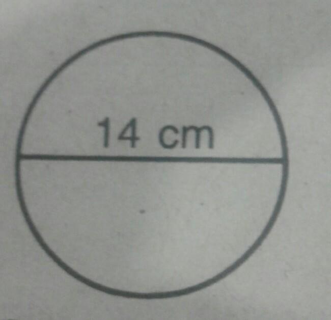 Luas Lingkaran Seperti Gambar Disamping Adalah Brainly Co Id