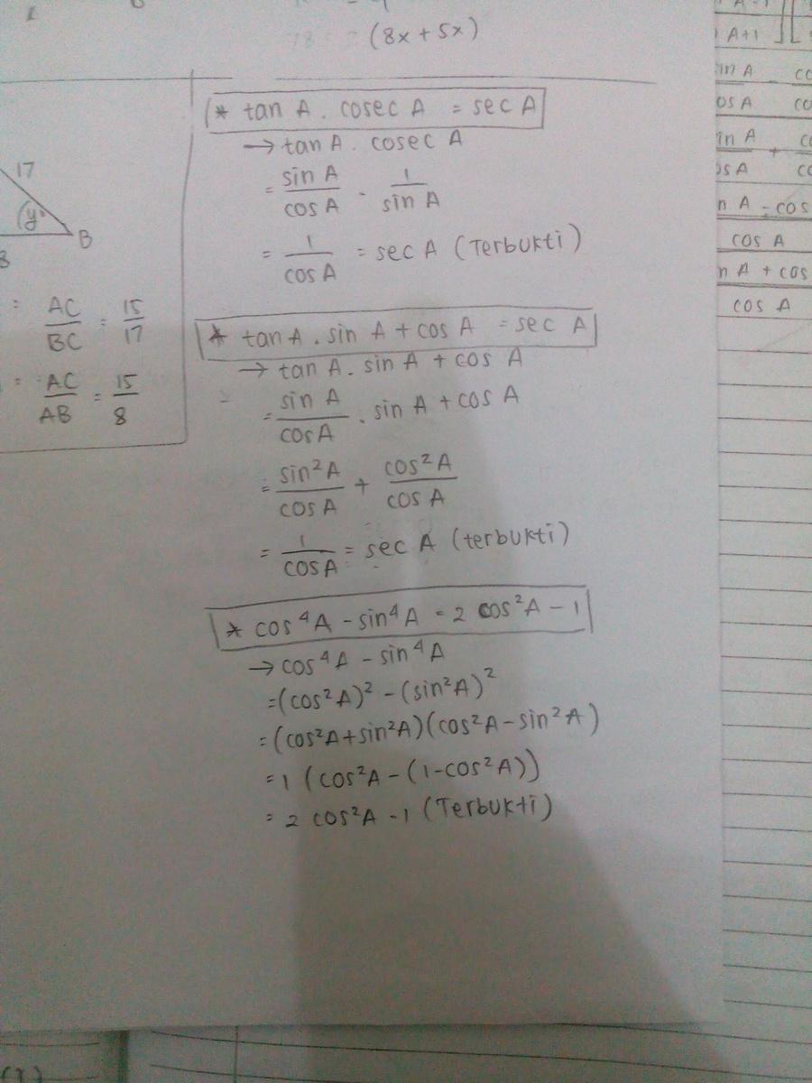 Ilmu Pengetahuan 10 Contoh Soal Persamaan Trigonometri Kelas 11 Brainly