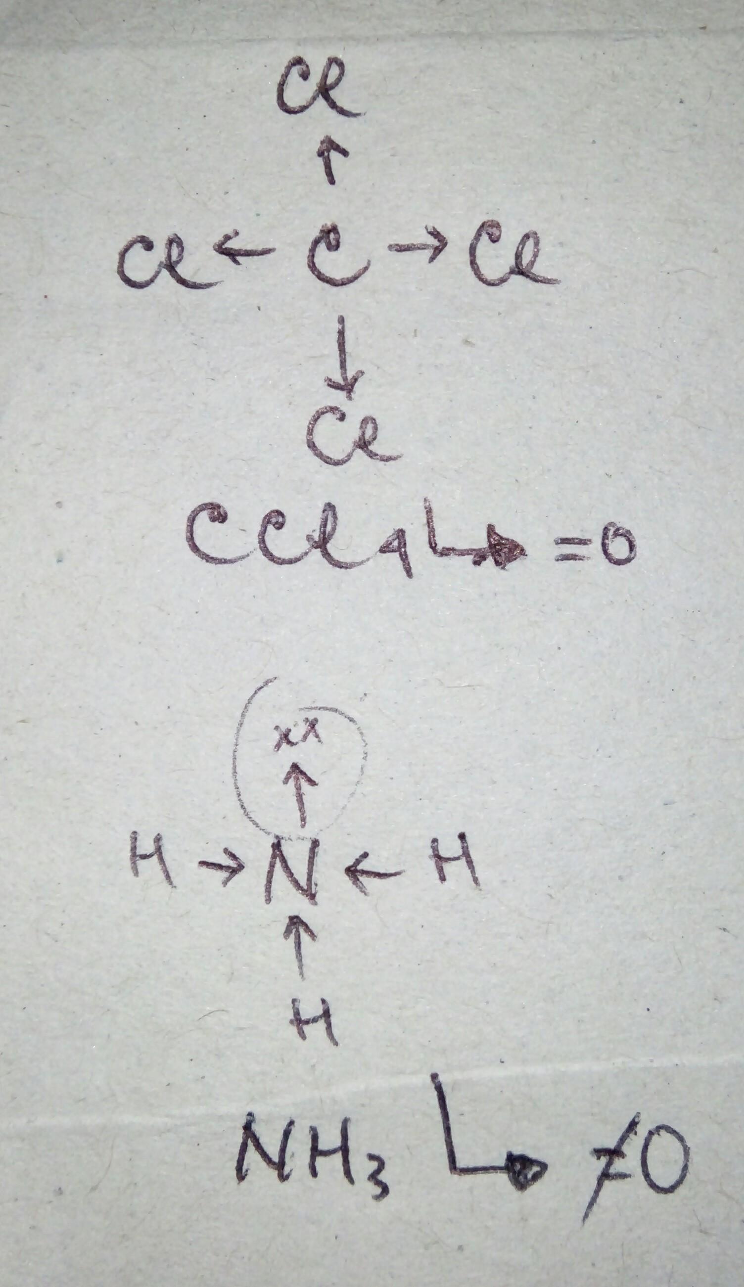 Berdasarkan Harga Momendipol Jelaskan Mengapa Ccl4 Bersifat Nonpolar Sedangkan Nh3 Bersifat Polar Brainly Co Id