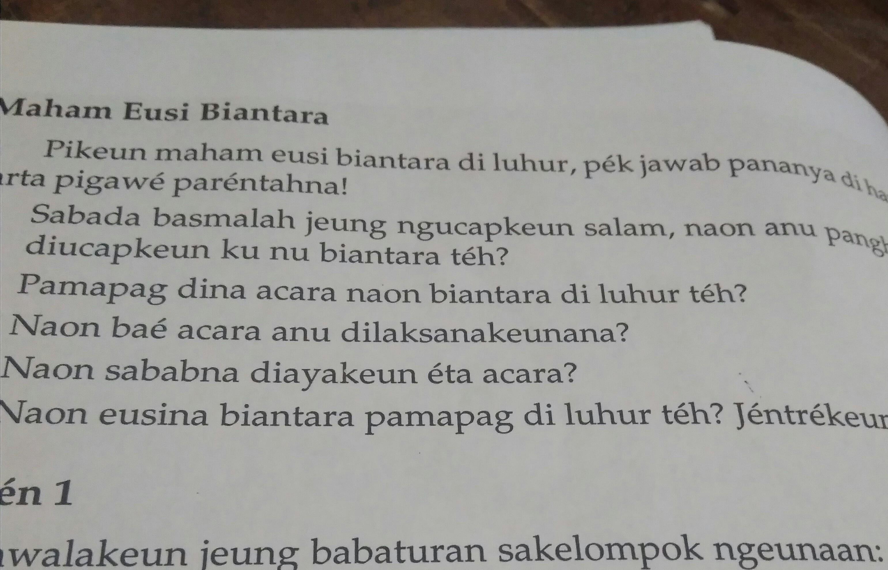 Contoh Biantara Pamapag Download Gambar Online