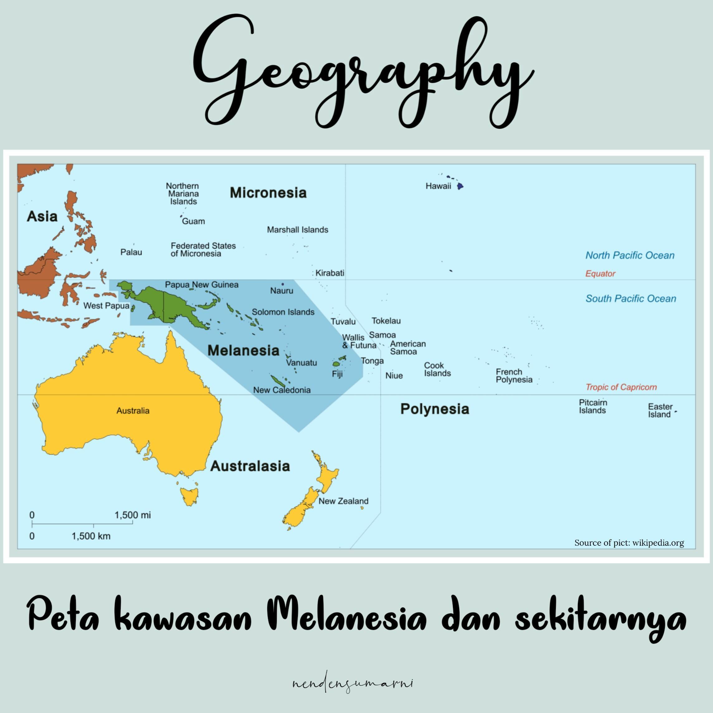 Peta Indonesia: Proyeksi Peta Yang Digunakan Untuk ...