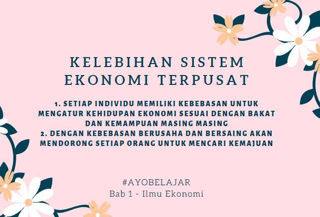 ciri - ciri sistem ekonomi terpusat dan ciri - ciri sistem ...