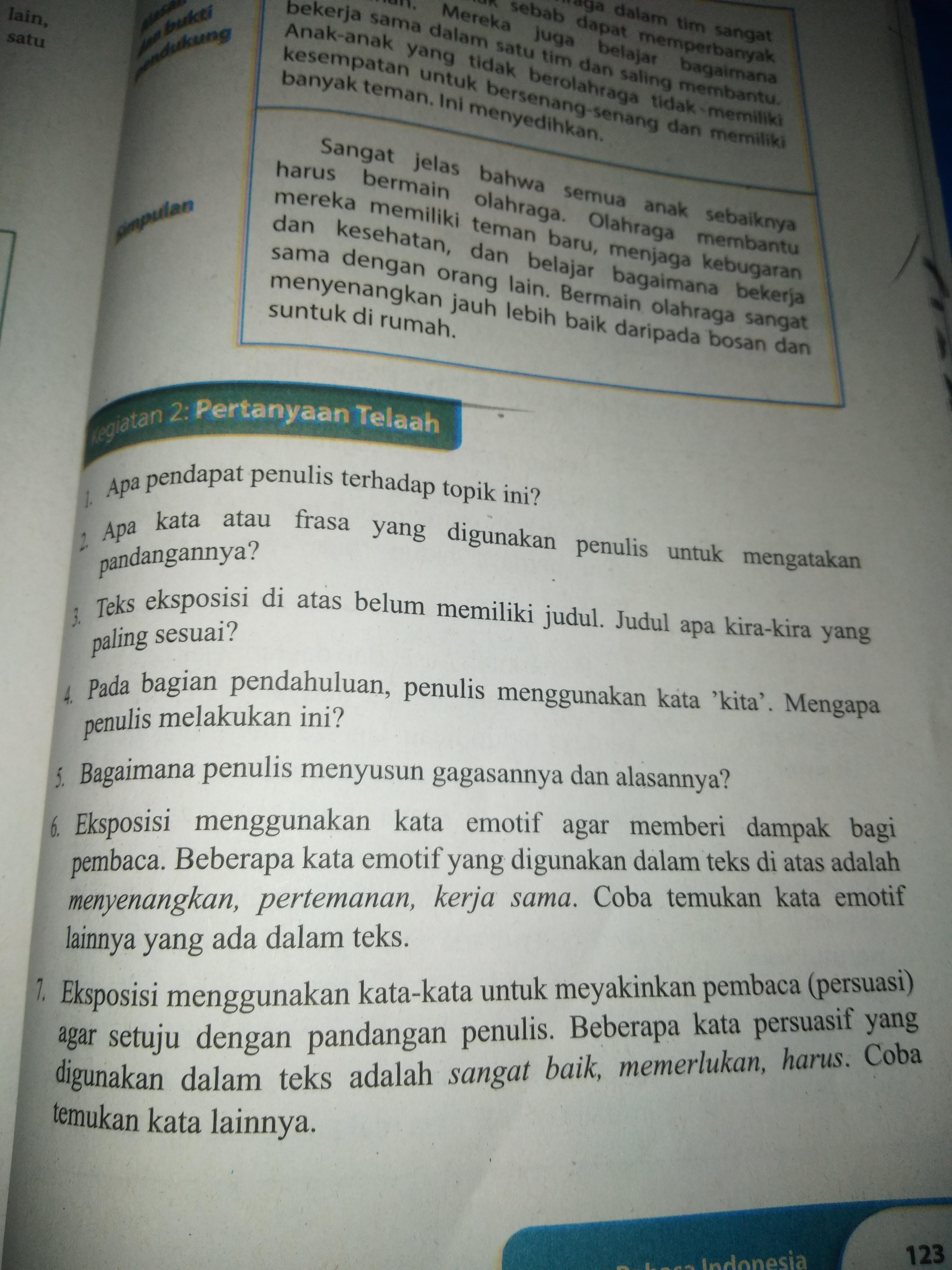 Buku Paket Halaman 123 Bahasa Indonesia Kelas 9 Ilmusosial Id