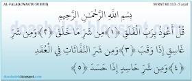 surah ala falaq ayat 3 - Brainly co id