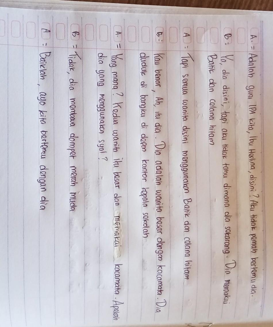 Tolong Dong Terjemahan Bahasa Inggris Kelas 7 Bab 7 Halaman 158 Brainly Co Id