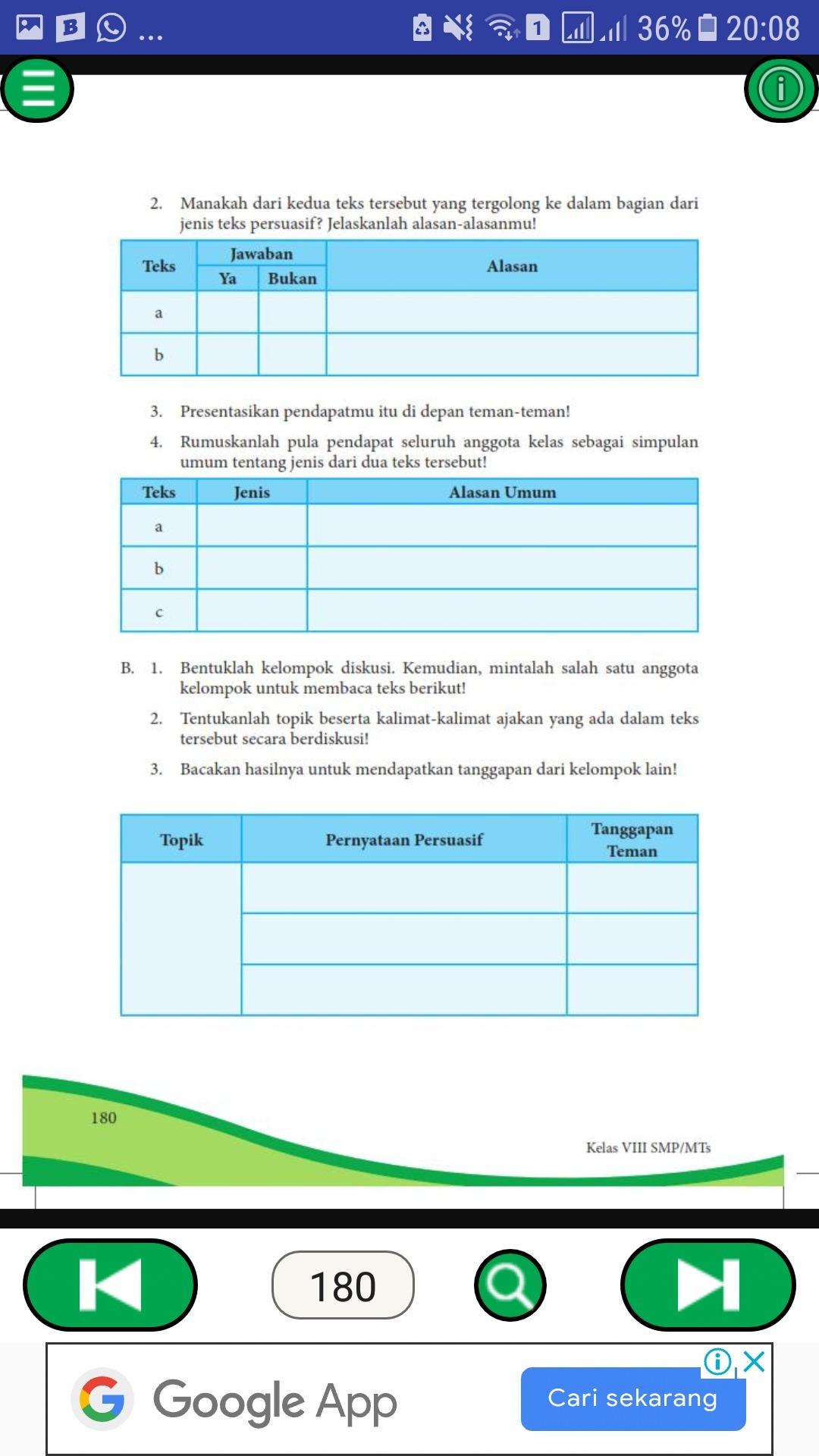 Kunci Jawaban Bahasa Indonesia Kelas 12 Kegiatan 2 - Bali ...