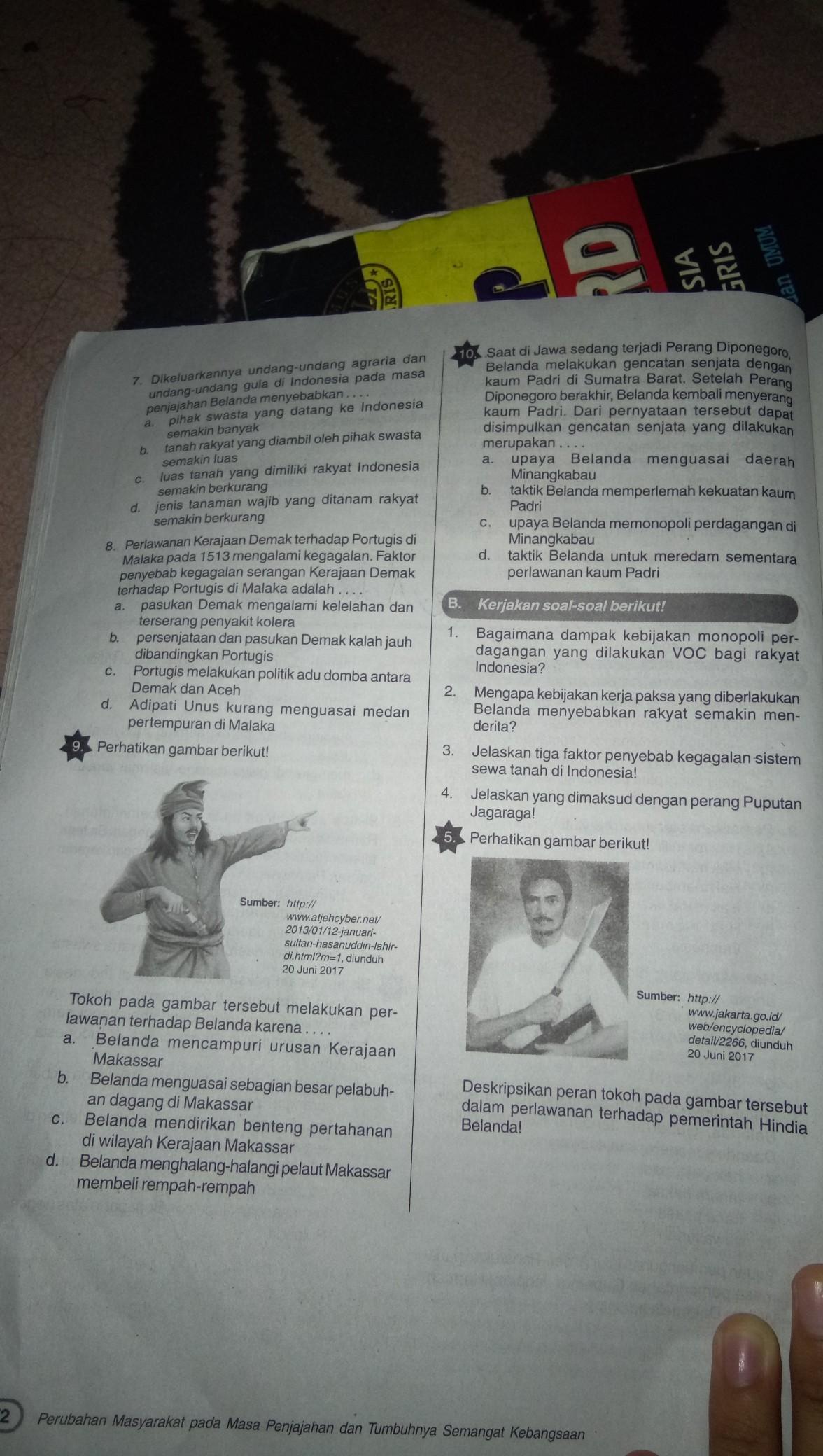 Jawaban Buku Lks Ips Kelas 8 Semester 2 Halaman 72 Brainly Co Id
