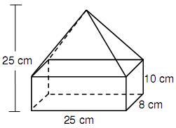 Buatlah 3 soal tentang bangun ruang selain Balok,Kubus,Prisma tegak segitiga,Kerucut,Limas