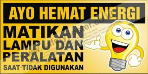 Gambar Poster Menghemat Energi Listrik Brainly Co Id
