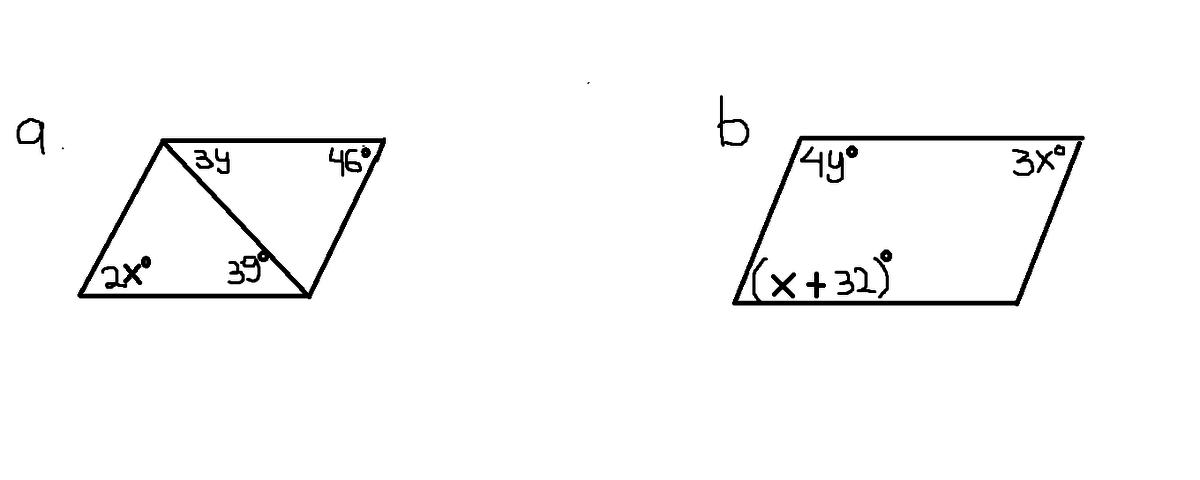 Tentukan Nilai X Dan Y Untuk Setiap Jajar Genjang Berikut Ini