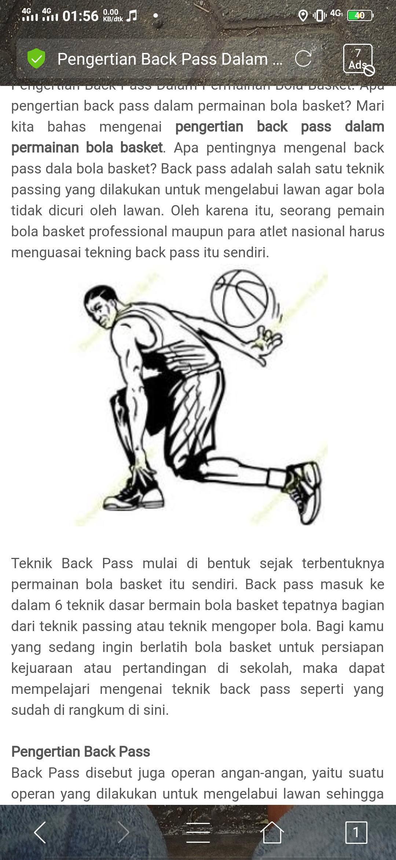 Jelaskan Pengertian Passing Dalam Permainan Bola Basket Berbagai Permainan