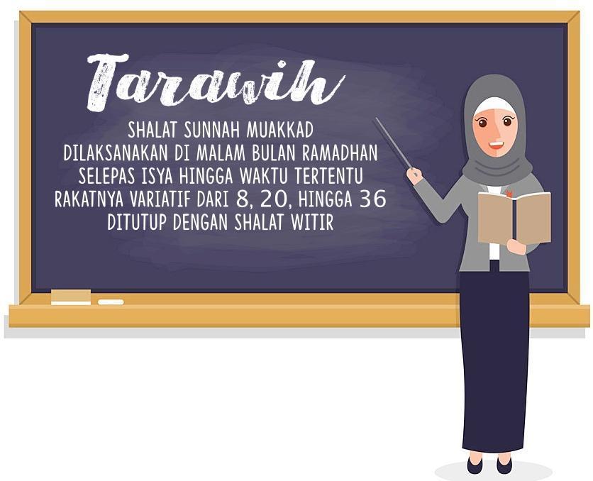 Bagaimanakah Ketentuan Shalat Tarawih Dalam Islam Brainly Co Id