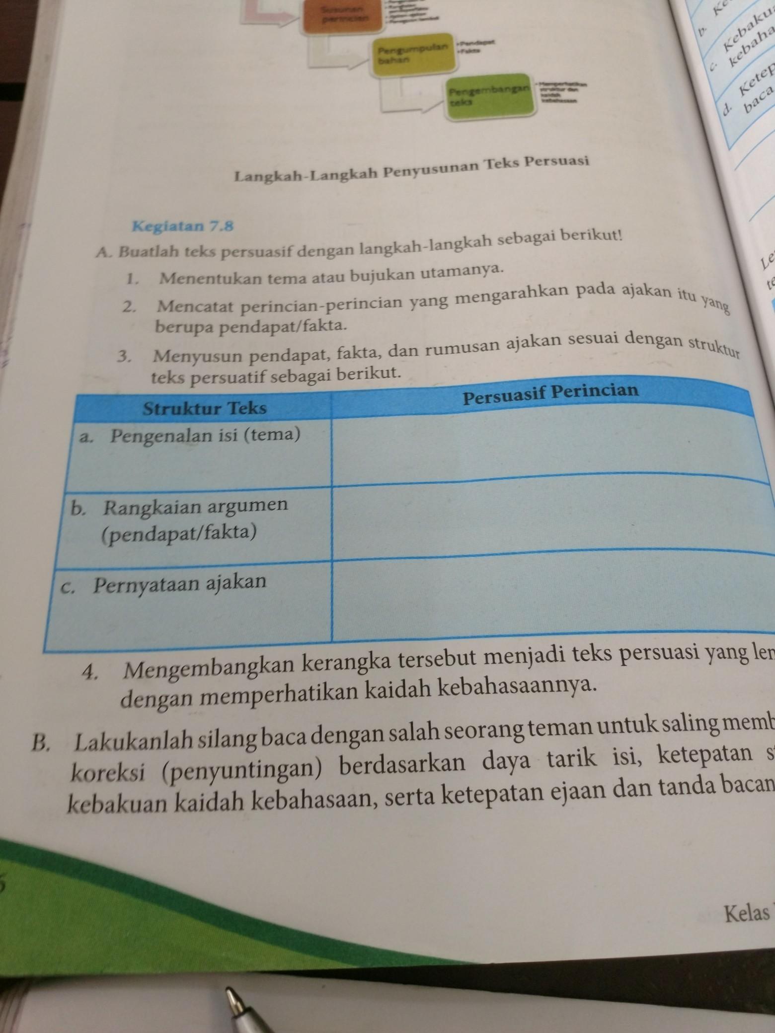 Jawaban Bahasa Indonesia Kelas 8 Halaman 196 Ilmusosial Id